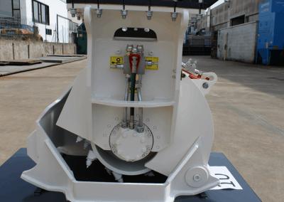 Asfalto frezos FSE rotoriaus variklis