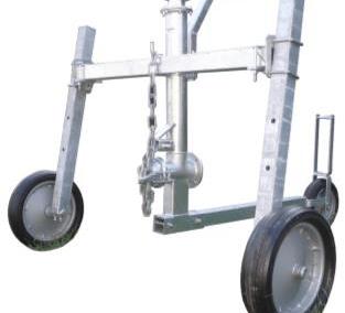 Automatinio laistymo mašina (ritė) LEGEND purkštuvo vežimėlis