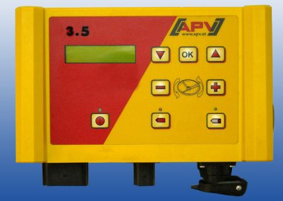 Elektrinės žolės sėklų sėjamosios ES100 M3 Special valdymo pultelis