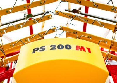 Elektrinė pneumatinė žolių sėklų sėjamoji PS 200 M1