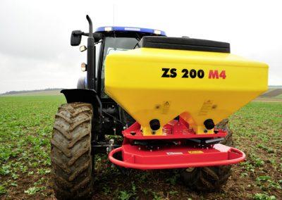 Dviejų diskų elektrinė žolės sėklų sėjamoji ZS 200 M4