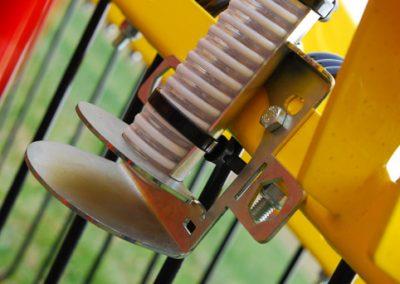 Elektrinės pneumatinės žolių sėklų sėjamosios PS 200 M1 išbėrimo lėkštelė