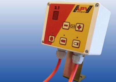 Elektrinės žolių sėklų sėjamosios ES 100 M1 Classic valdymo pultas