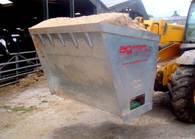 Kreiktuvas AG175 Xtra kreikimui pjuvenų, smulkintų šiaudų ir kitų medžiagų