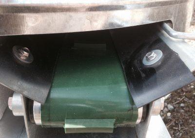 Kreiktuvo AG Maxi pagaminto iš nerūdijančio plieno transporteris