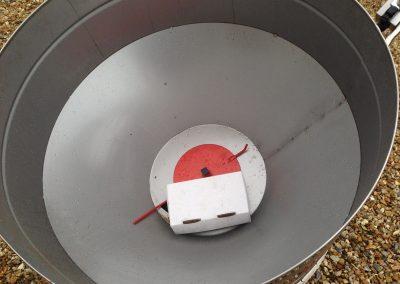 Kreiktuvas AG Maxi pagamintas iš nerūdijančio plieno-vaizdas iš vidaus