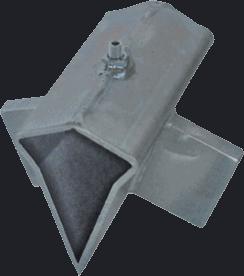 Kryžminis kapojimo pleištas malkų skaldyklei SF60, SF80, SF81, SF100