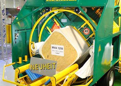 Stačiakampių ryšulių kukurūzų presas MVA1250 - naujas