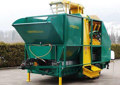 Stačiakampių ryšulių kukurūzų presas MVA1250 stacionarus