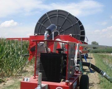 Automatinio laistymo mašina ORMApiogg EXCLUSIVE ir siurblys laisto laukus