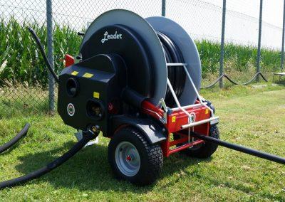 Automatinio laistymo mašina Leader 32 - 40 (120 m) laistyti daržovėms