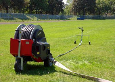 Automatinio laistymo mašina Leader 32 - 40 (120 m) laistyti parkams