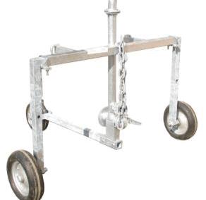 Automatinio laistymo mašina ORMApiogg EVENT purkštuvo vežimėlis