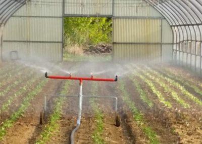 Laistymo mašinos mažoji sija laistymui šiltnamių ir sodų
