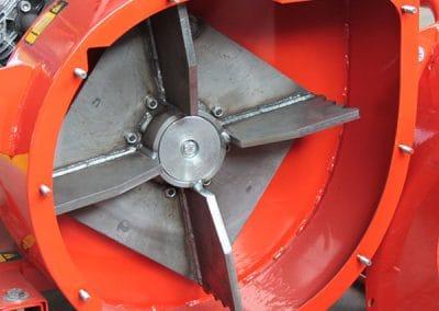 Lapų vakuuminio siurblio JUMBO ventiliatorius