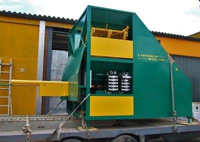 Stačiakampių ryšulių kukurūzų presas MVA750 stacionarus
