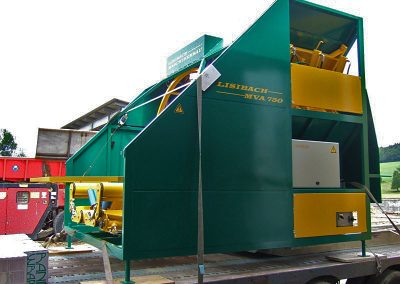 Stačiakampių ryšulių kukurūzų presas MVA750 stacionarus be užpylimo