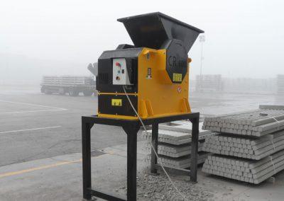 Trupintuvas smulkintuvas CR smulkinti trupinti betono atliekoms