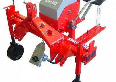 Ravėtuvo SA nepriklausoma hidraulinė sistema su siurbliu