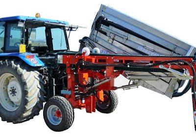 Darzoviu derliaus nuemimo transporteris NU940 vienu dirzu transportavimui
