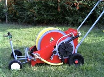 Automatinio laistymo mašina Leader 20 laistyti vejai ir daržams