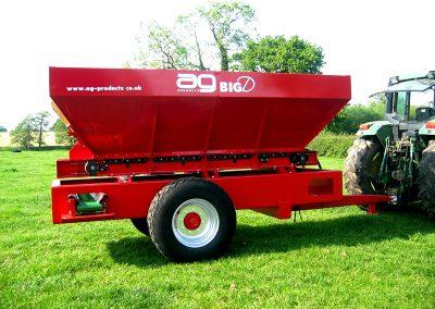 Kreiktuvas AG BIG D sukurtas profesionaliam, dideliam ūkiui