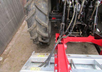 Kreiktuvo AG175 Xtra pakabinimo rėmas su hidraulika