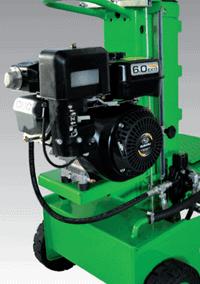 Malkų skaldyklė Forest SF100 su benzininiu varikliu