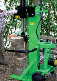 Malkų skaldyklė Forest SF170 malkų (rąstų) skaldymas