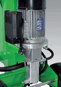Malkų skaldyklė Forest SF80 su elektriniu varikliu - vienfazė