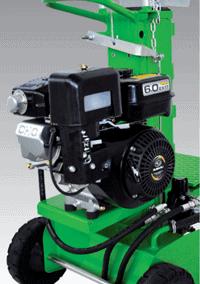 Malkų skaldyklė Forest SF81 su benzininiu varikliu