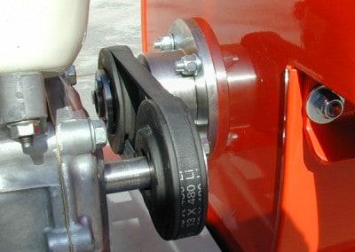 Šakų smulkintuvo BIO 55 diržinė pavara