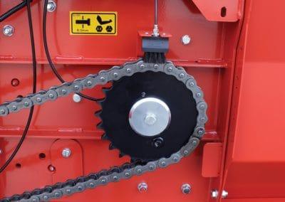 smulkintuvo automatinis grandines tepimas