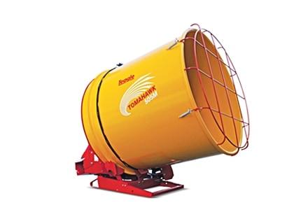 Tomahawk 505M šiaudų malūnas smulkintuvas